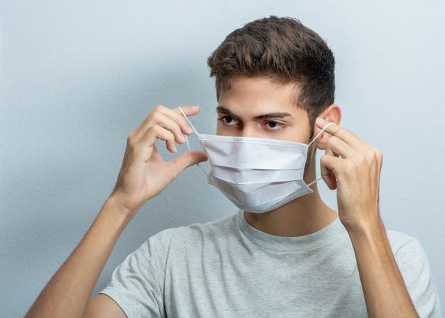本物のコロナウイルスを用いたマスク効果の検証実験