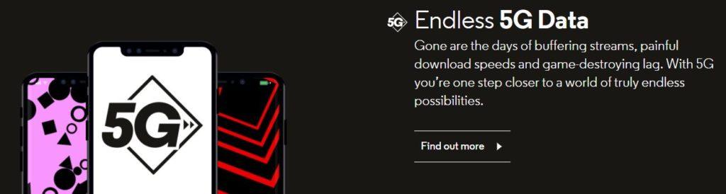 Endless 5G