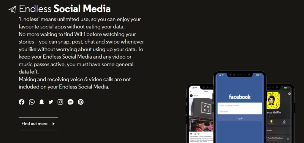 Endless Social Media