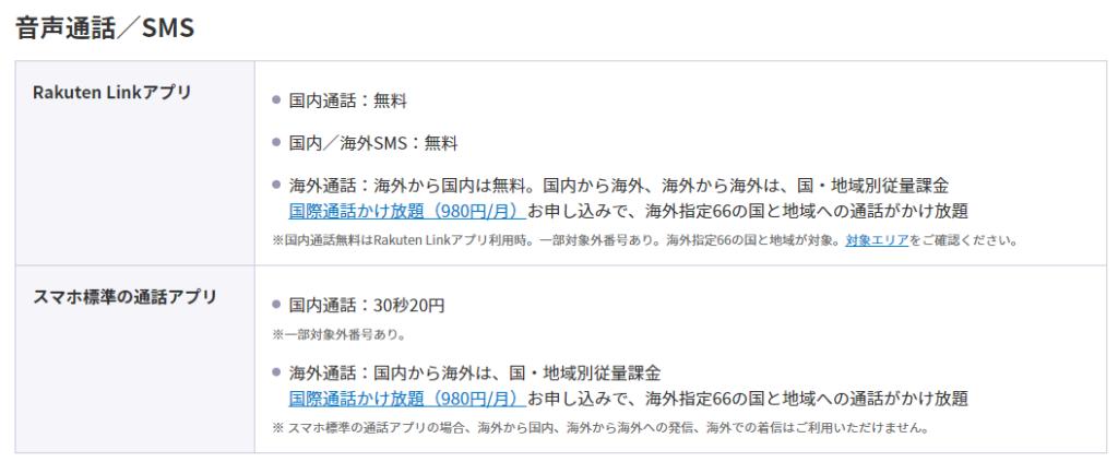 海外から日本国内への通話は無料。また着信も完全に無料