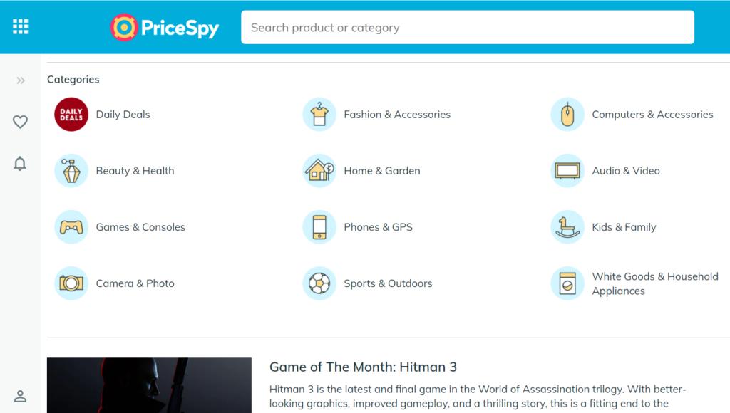 """イギリス版価格.com""""PriceSpy""""で最安価格を見つけよう"""