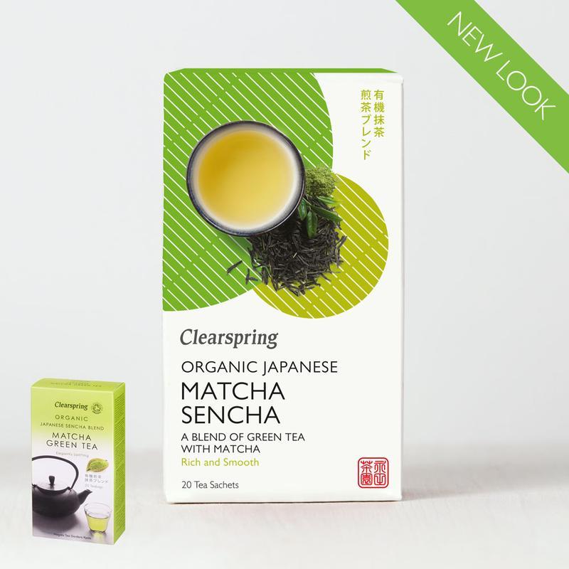 Organic Japanese Matcha Sencha - 20 Tea Sachets