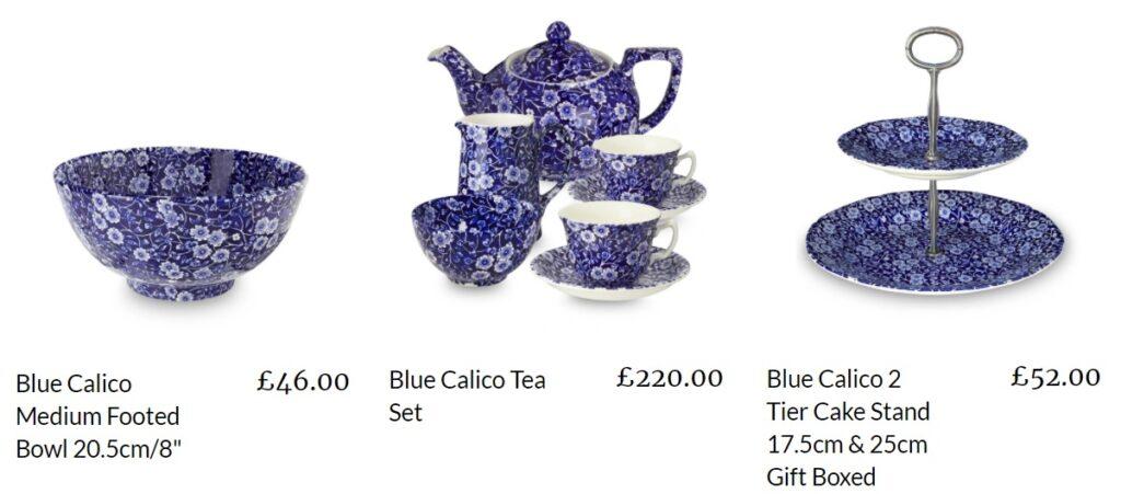 鮮やかな青色、Blue Calico(ブルー・キャリコ)2