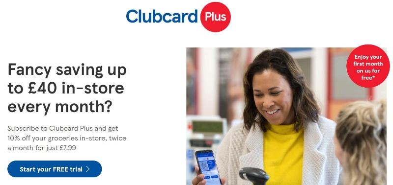 Tesco Clubcard plusとは