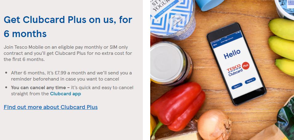 [期間限定 5/31まで]Tesco Clubcard Plus(£7.99/月)が6か月間無料に!